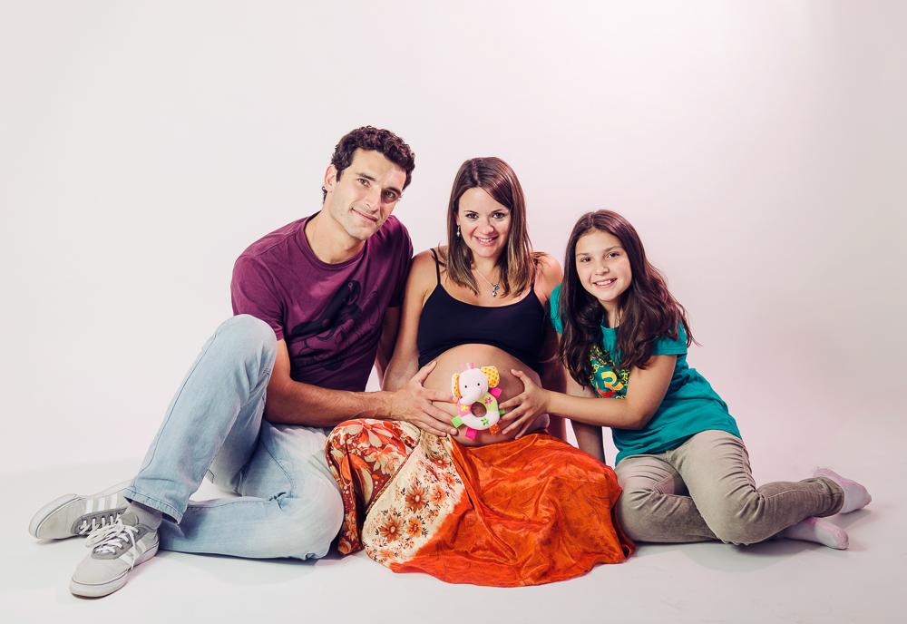 Sesión embarazo por Samanta Contín