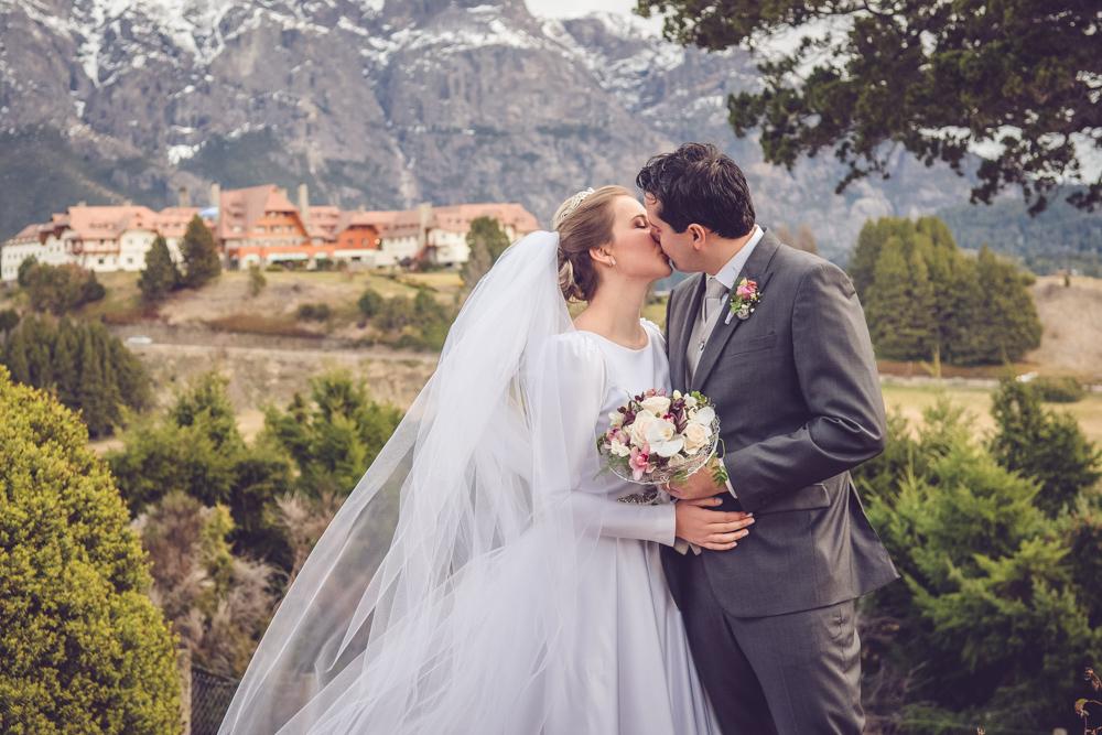 fotógrafa de boda en hotel Llao Llao Bariloche