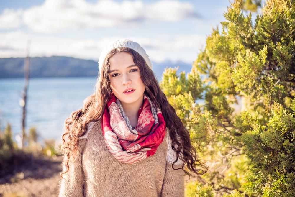Sesión de fotos en Lago Nahuel Huapi Bariloche