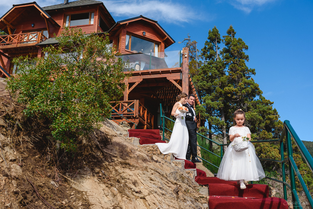 casamiento en charming luxury lodge