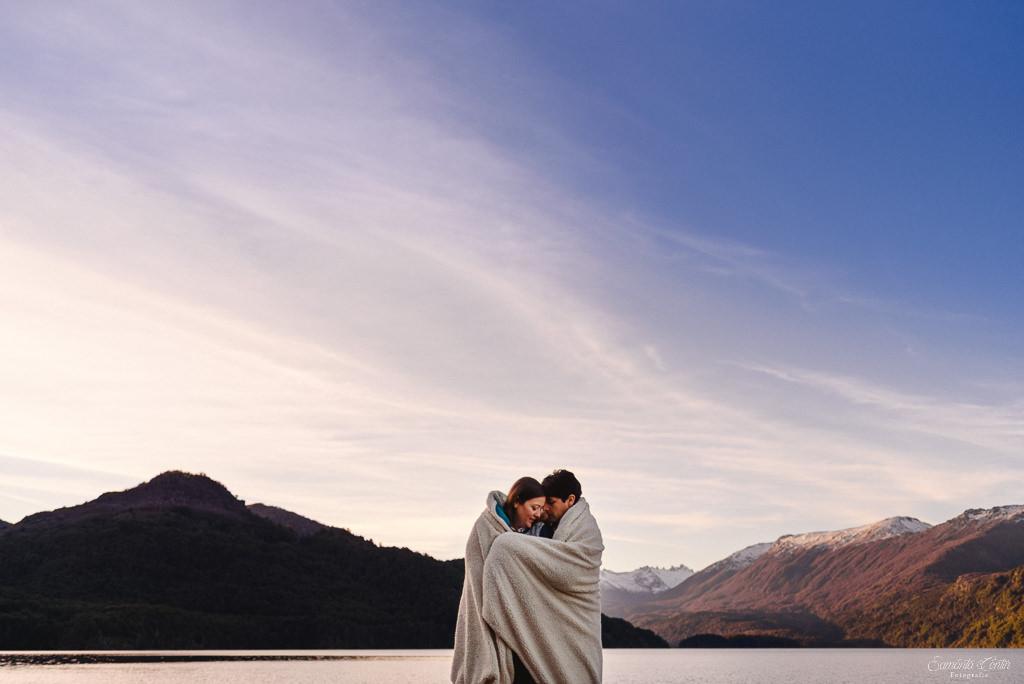 bariloche patagonia argentina sesión fotos pre boda