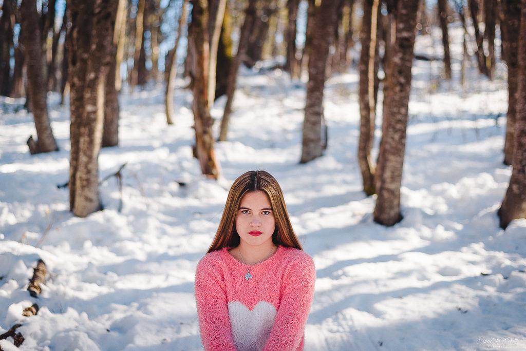 invierno en bariloche nieve cerro otto