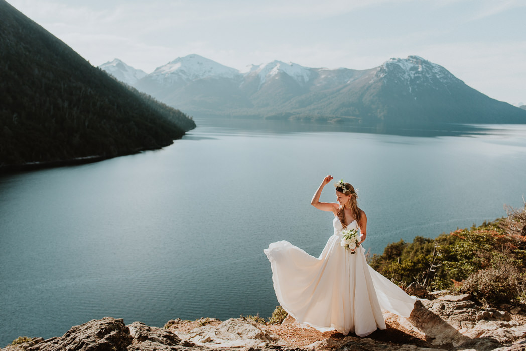 destination wedding photographer in patagonia argentina