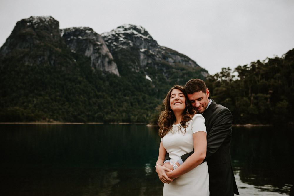 Casamiento en Puerto Blest -Pau & Migue