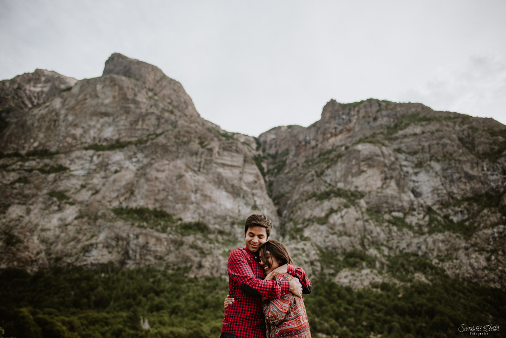engagement photo session bariloche