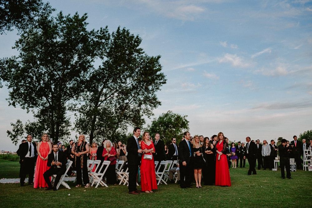 fotos casamiento al atardecer en el golf club de buenos aires