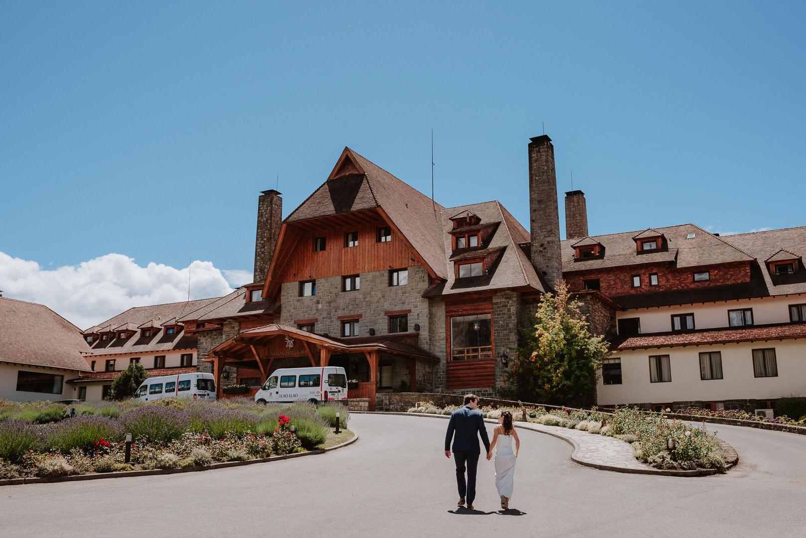fotos casamento em Llao Llao Hotel Bariloche