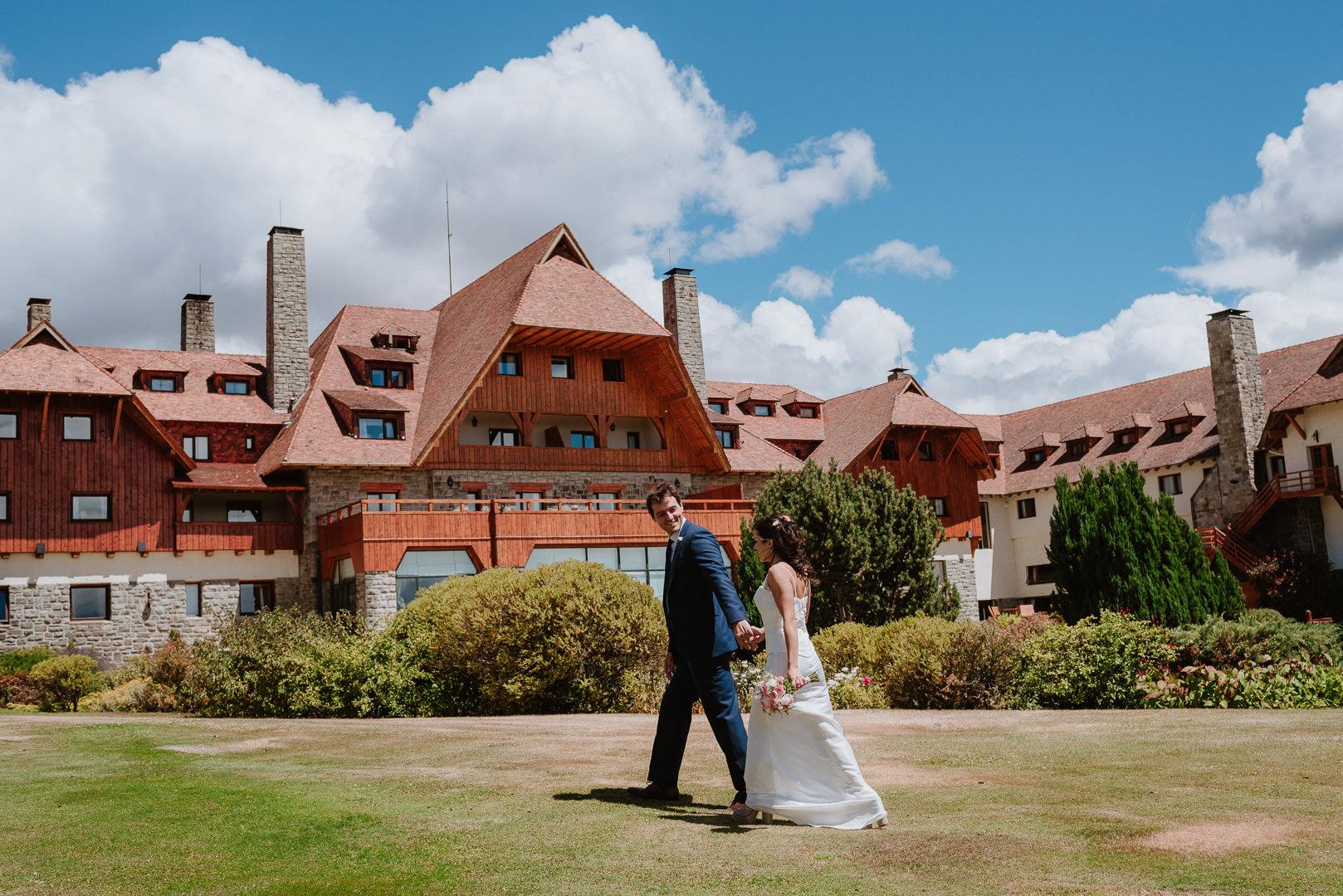 fotos boda en Llao Llao Hotel Bariloche