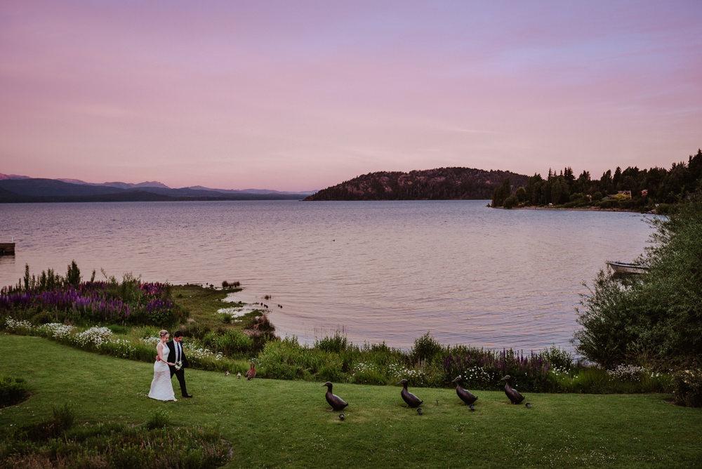 boda en el casco hotel