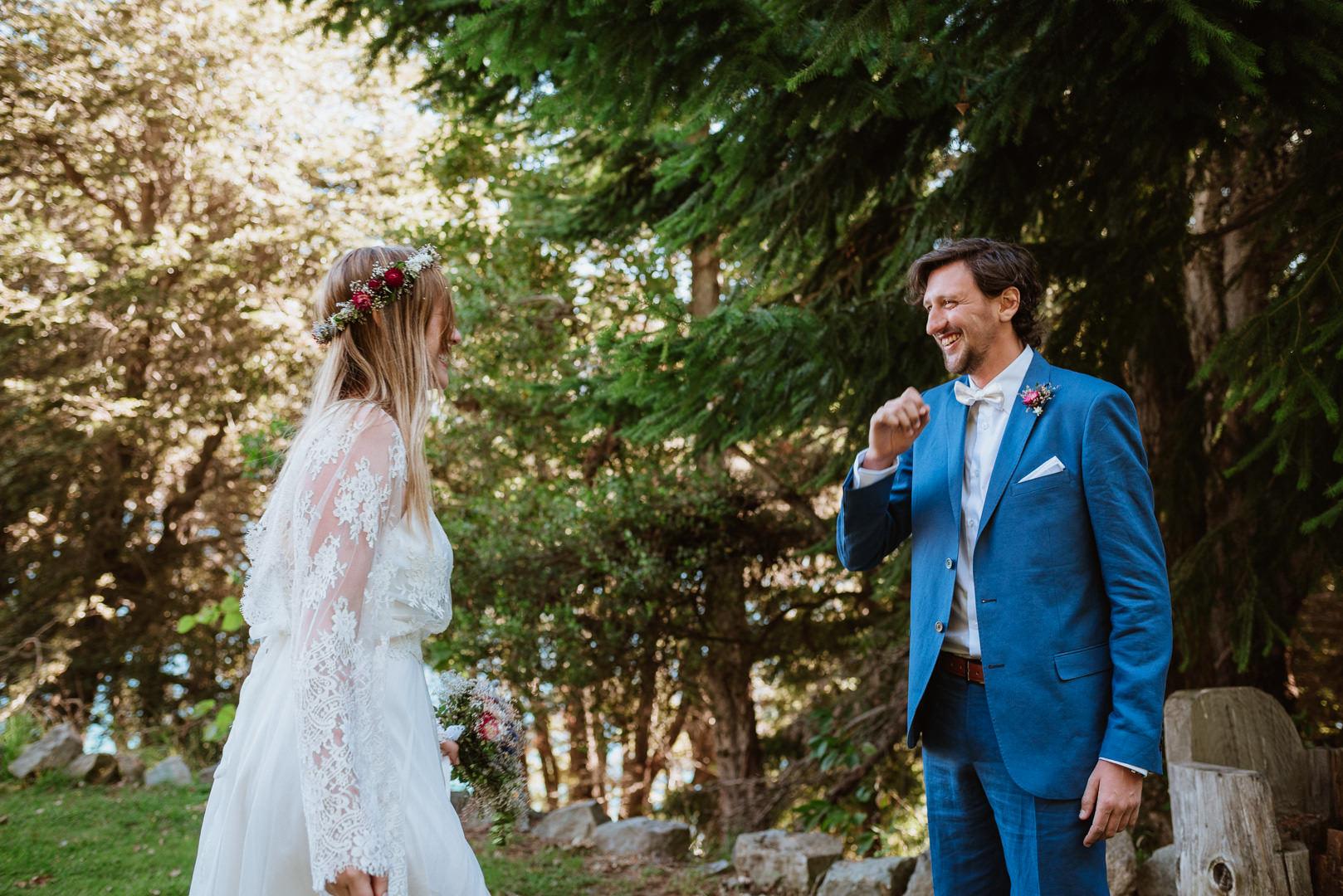 fotos casamiento de día en bariloche