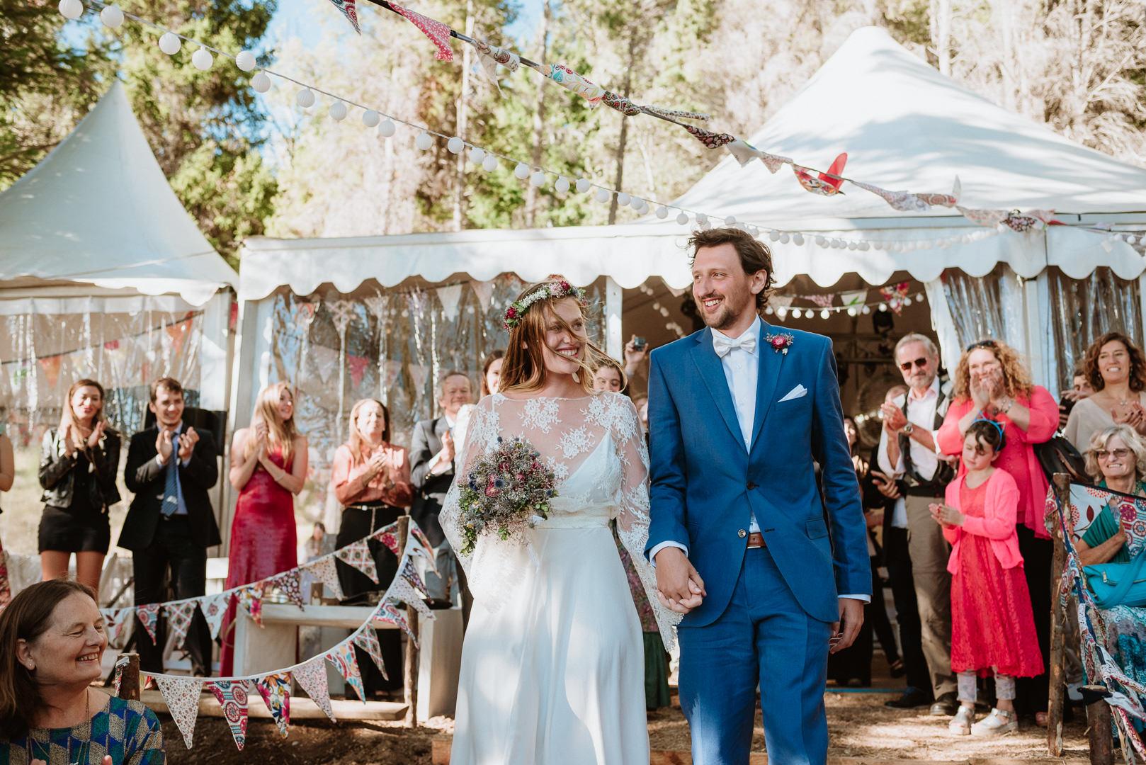 fotos casamiento en el bosque en bariloche
