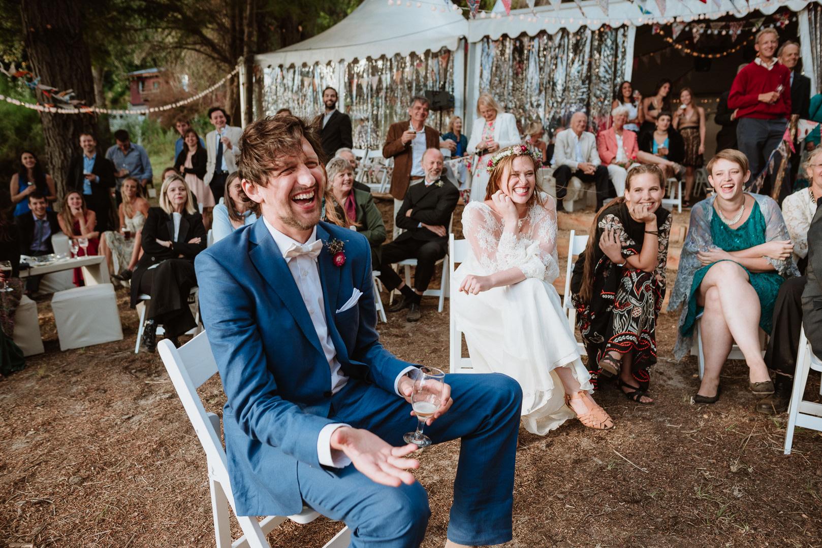 casamiento de día en el bosque bariloche