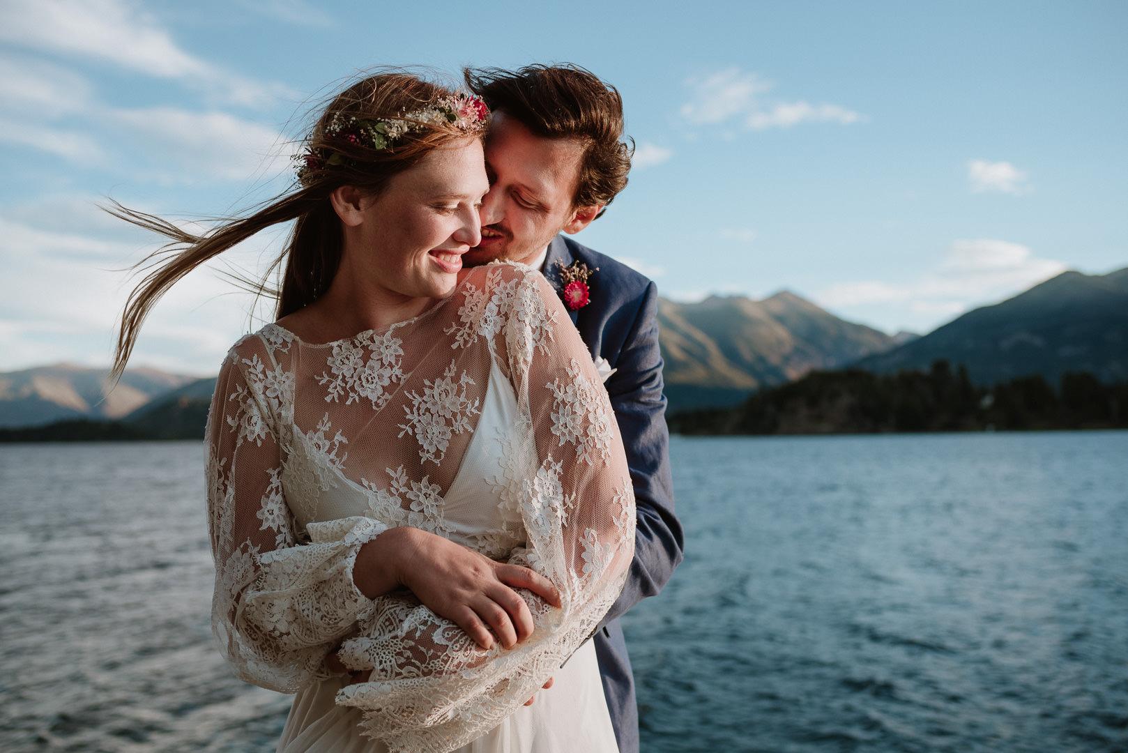 casamiento a la orilla del lago en bariloche