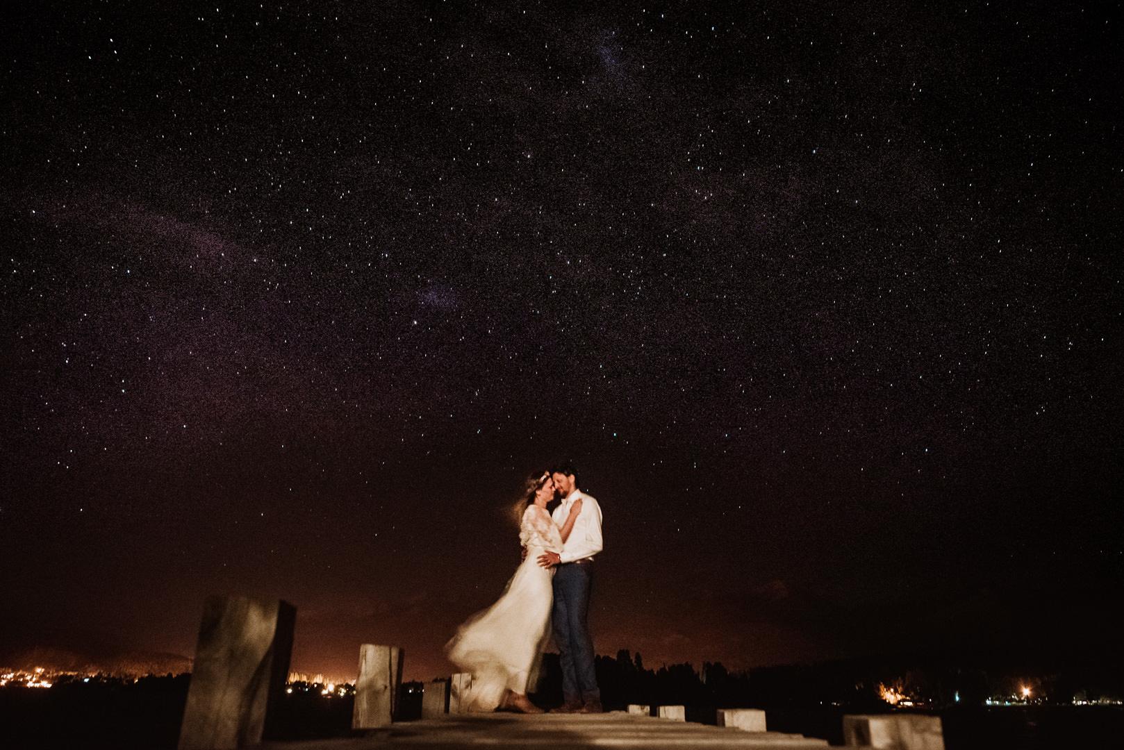 casamiento de noche bariloche luna nueva