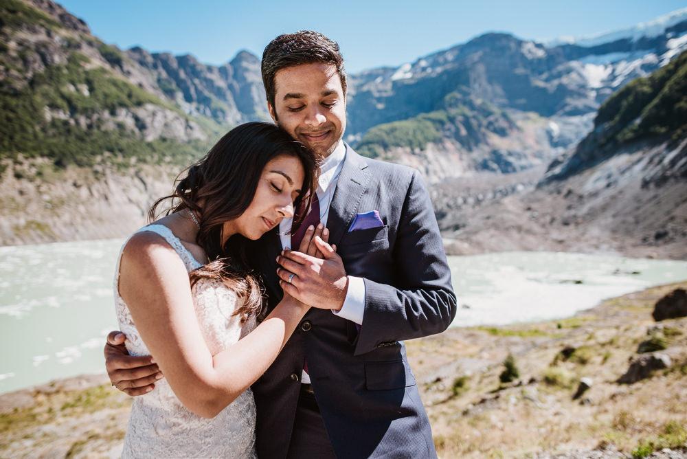 fotos de boda en la montaña
