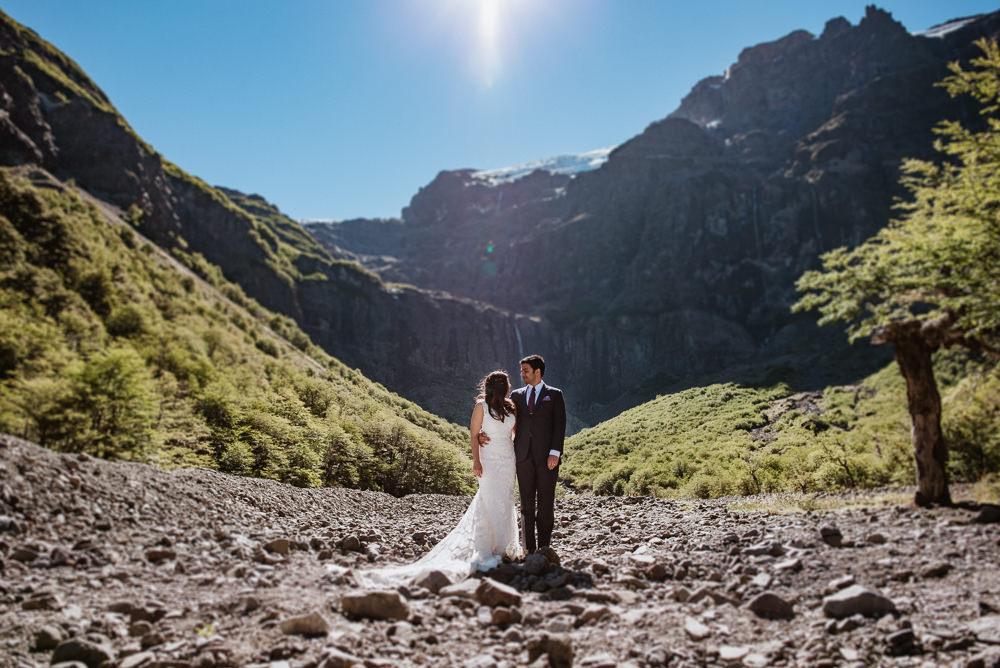 elopement wedding in patagonia