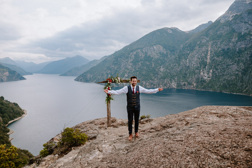 mountain elopement wedding patagonia bariloche