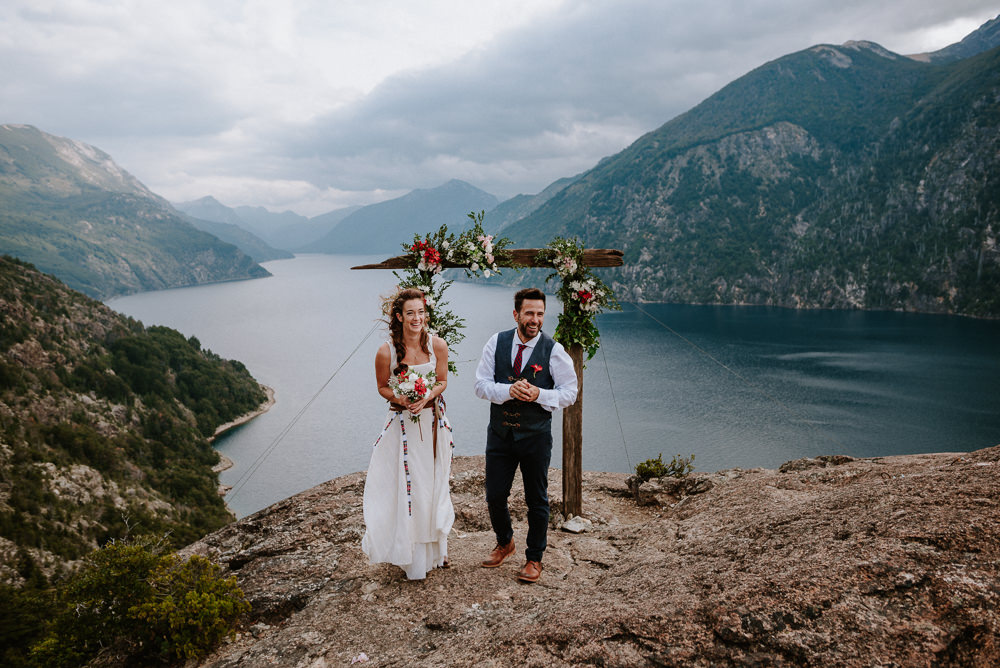 bariloche mountain wedding