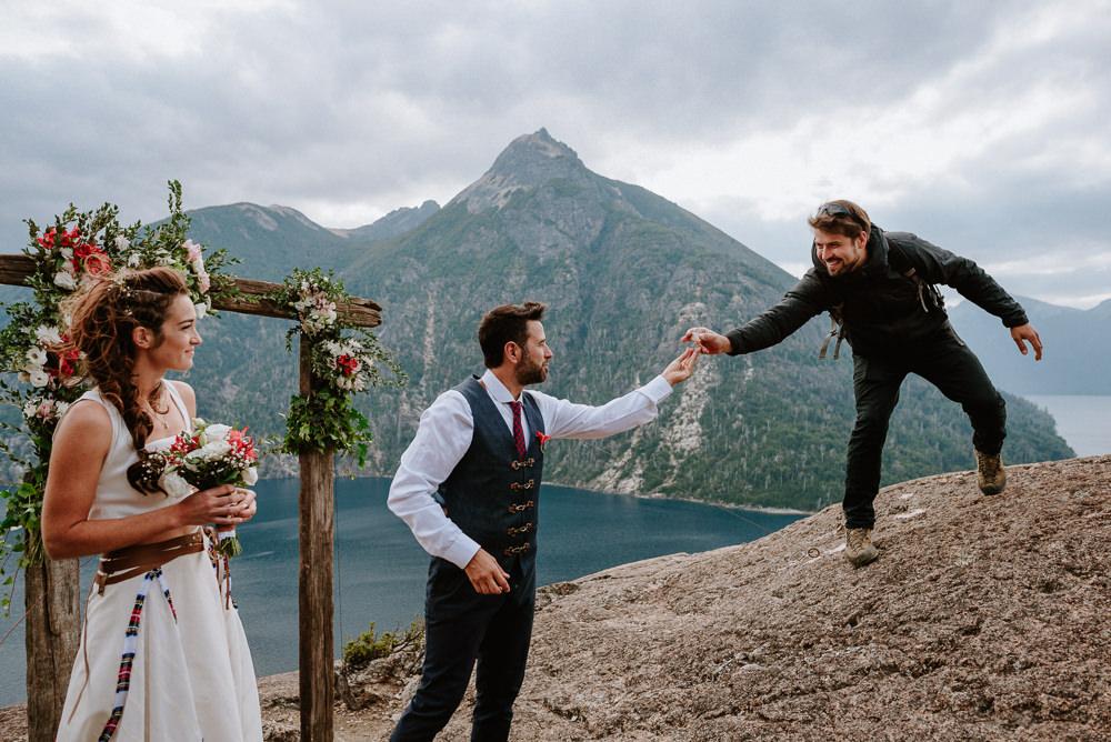 boda de día en bariloche