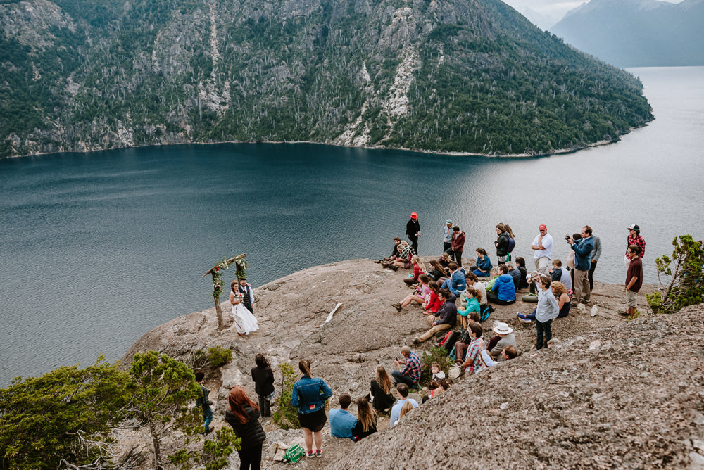 matrimonio en la montaña argentina patagonia