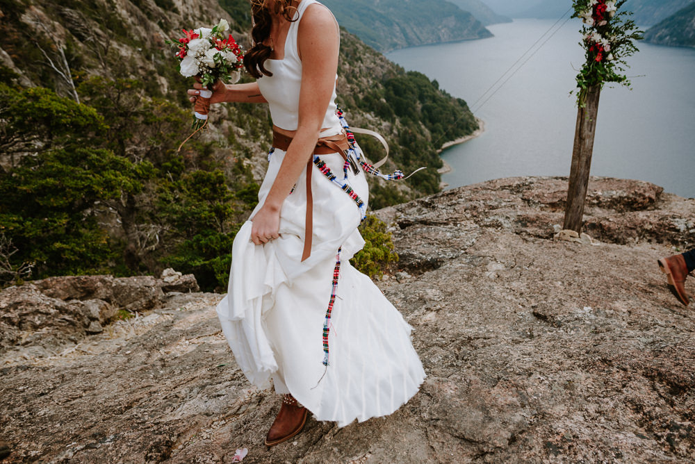 vestido de novia gastronomic bariloche
