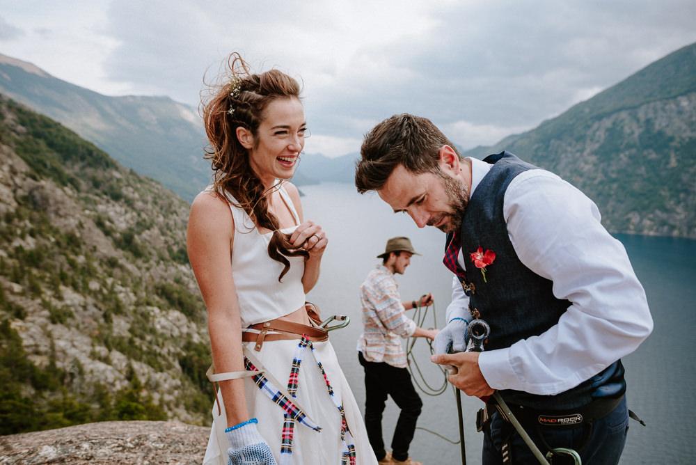 boda de escaladores bariloche patagonia argentina