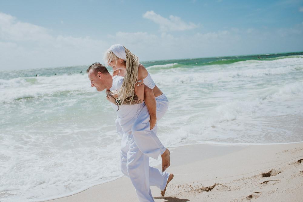 fotos de casamiento en la playa