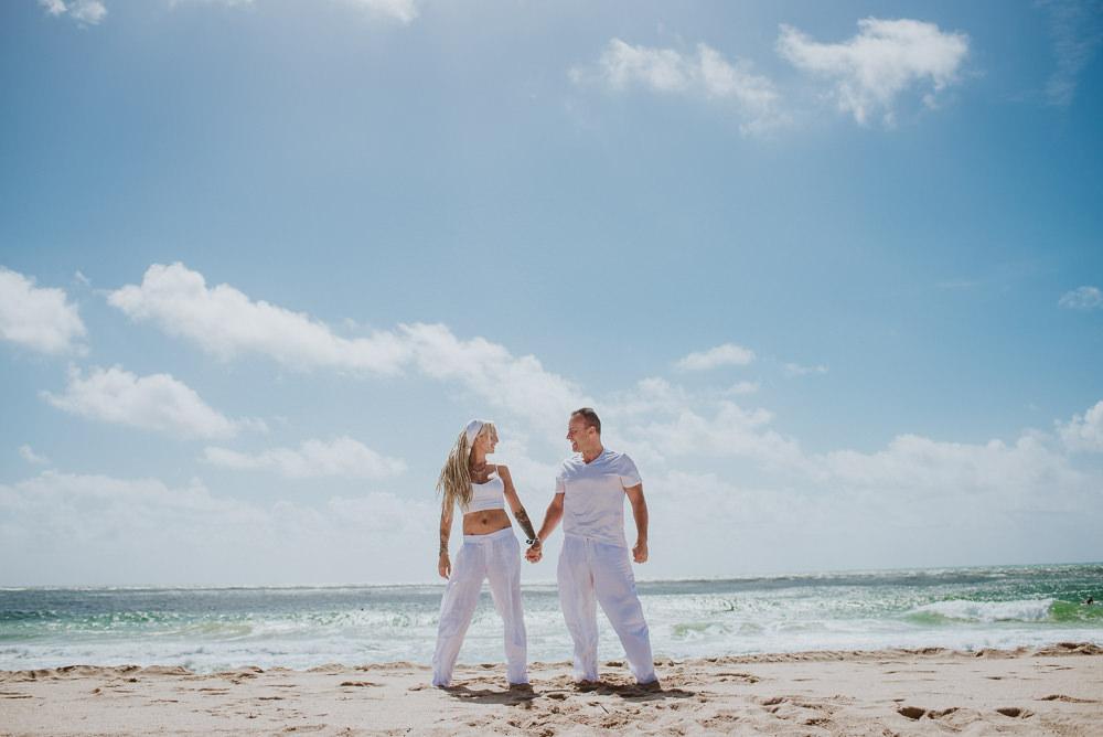 fotos de casamientos en la playa
