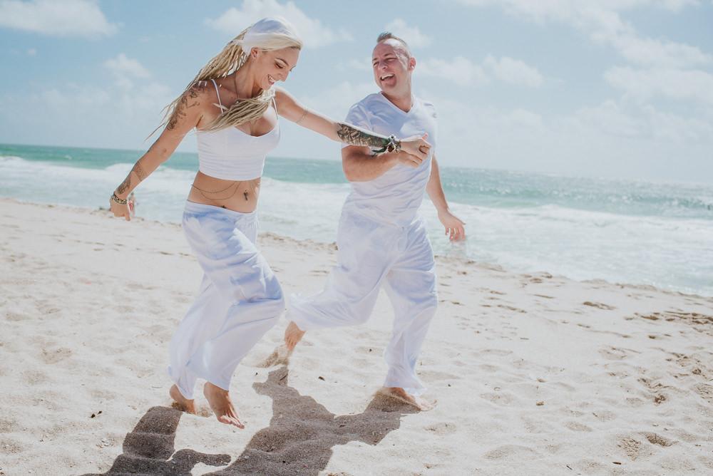 sesión de fotos pre boda en miami beach