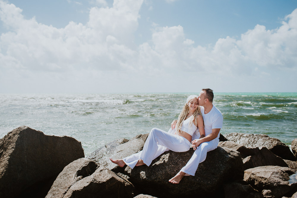 engagement photo session miami beach florida