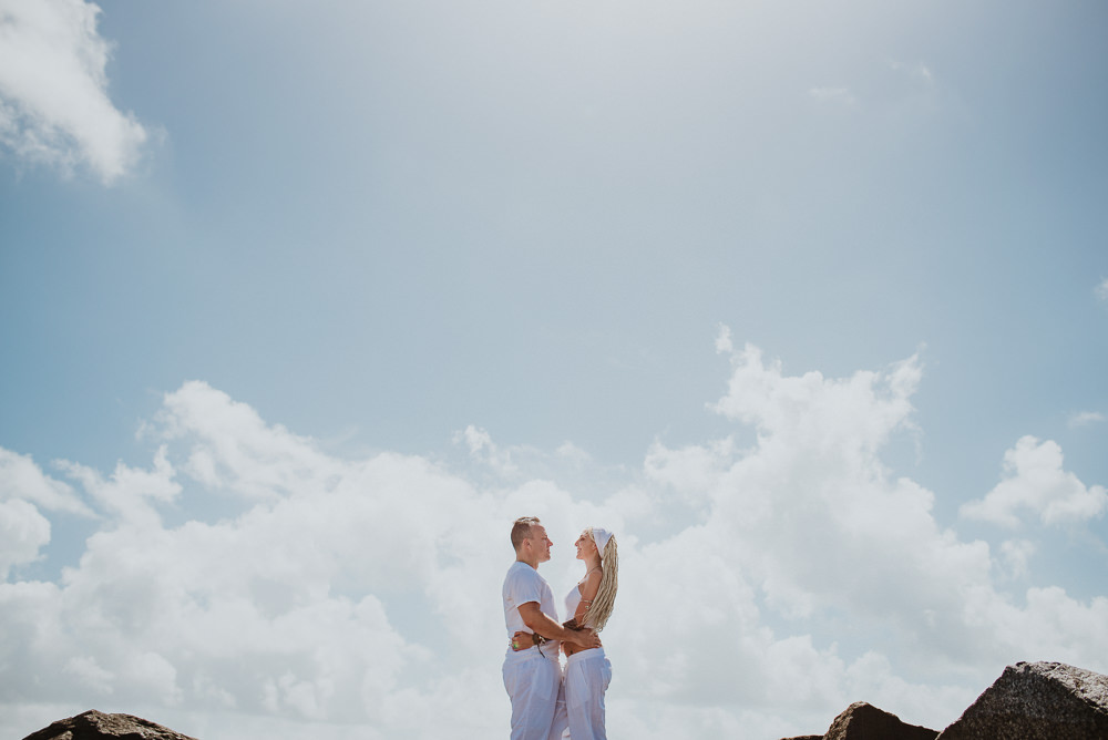 beach wedding photographer in miami