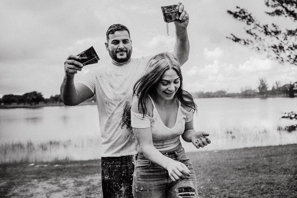 sesión de fotos pareja original miami