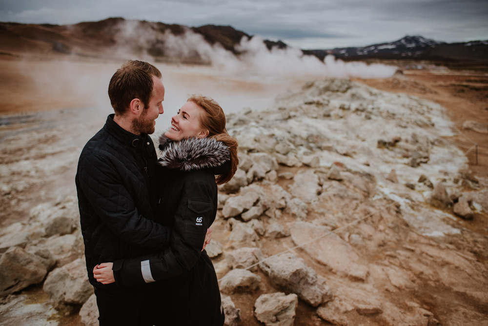 iceland elopement photoshoot