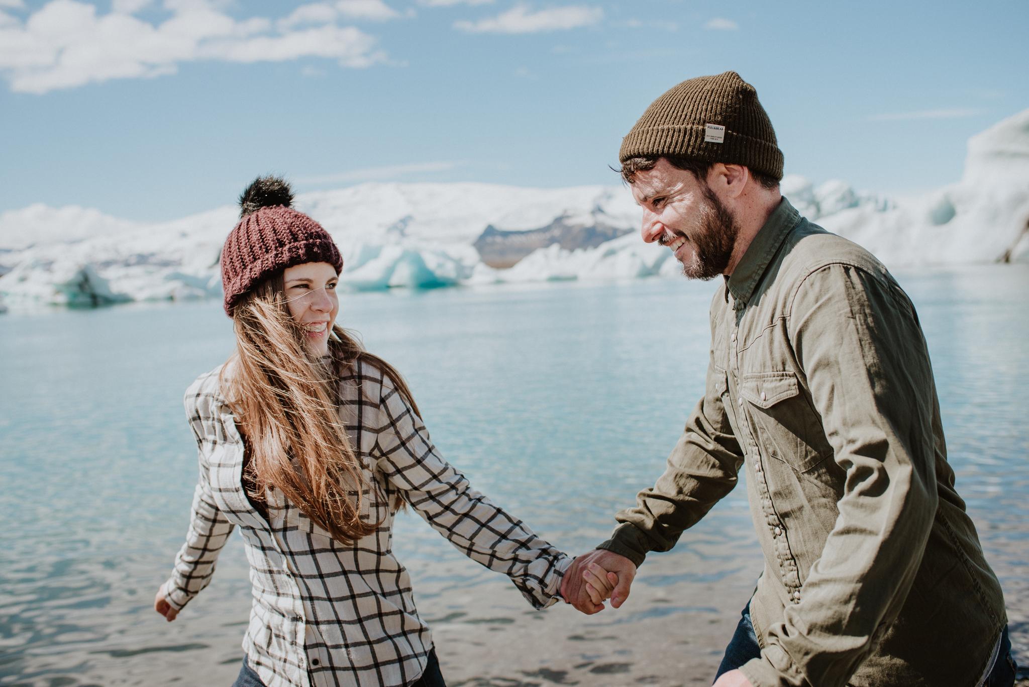 Marta & Juanlu | Sesión de Fotos en Islandia