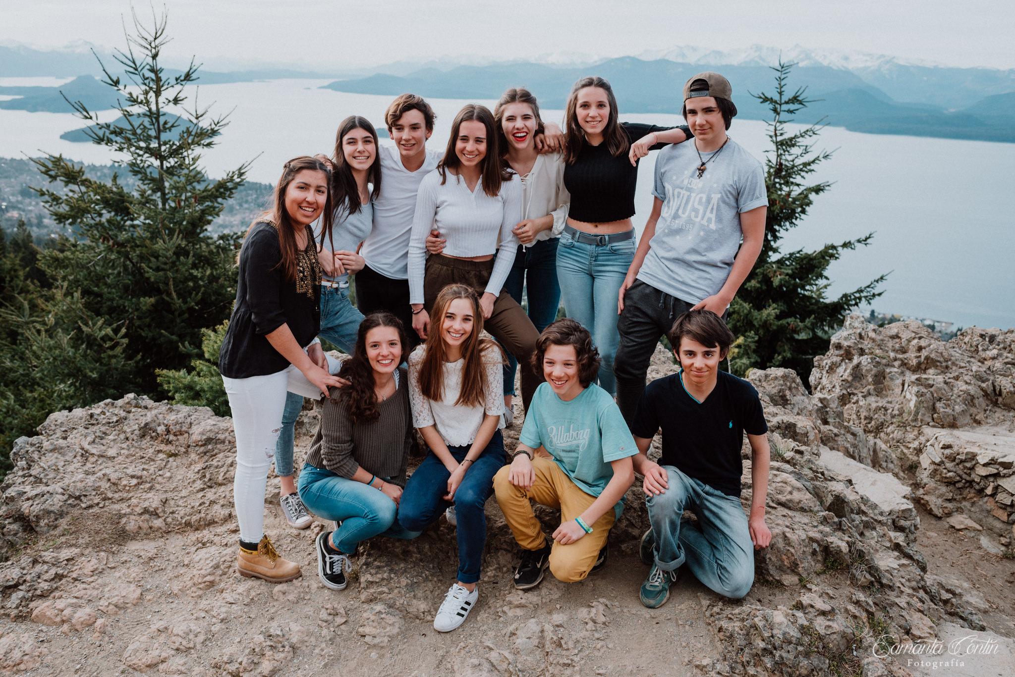 fotos 15 años amigos bariloche