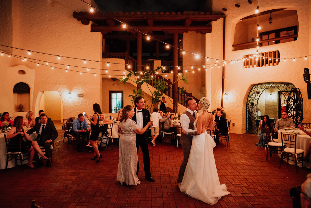 first dance miami wedding curtiss mansion