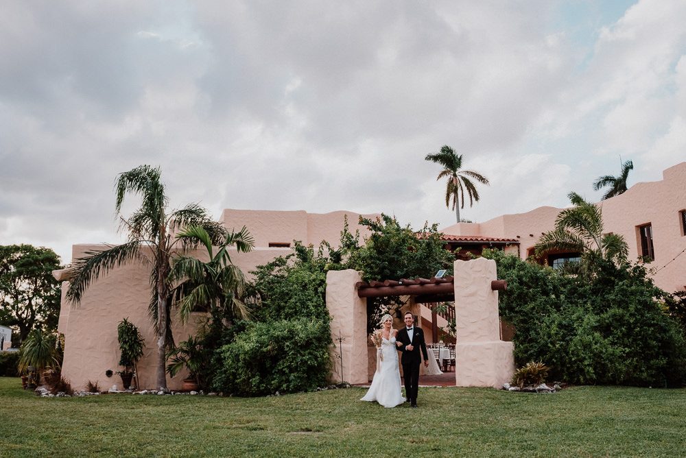 wedding at curtiss mansion miami