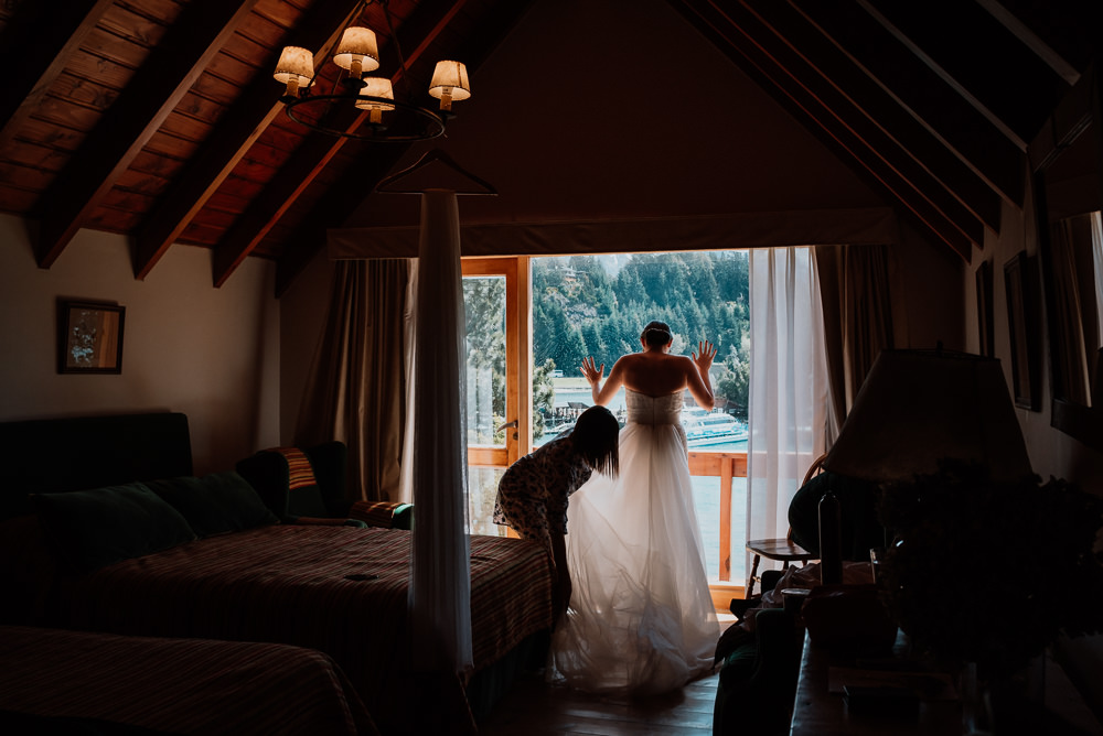 patagonia intimate destination wedding photographer