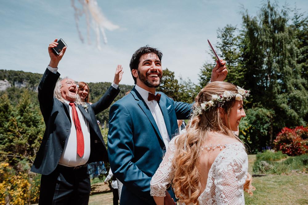 boda al aire libre villa la angostura fotos