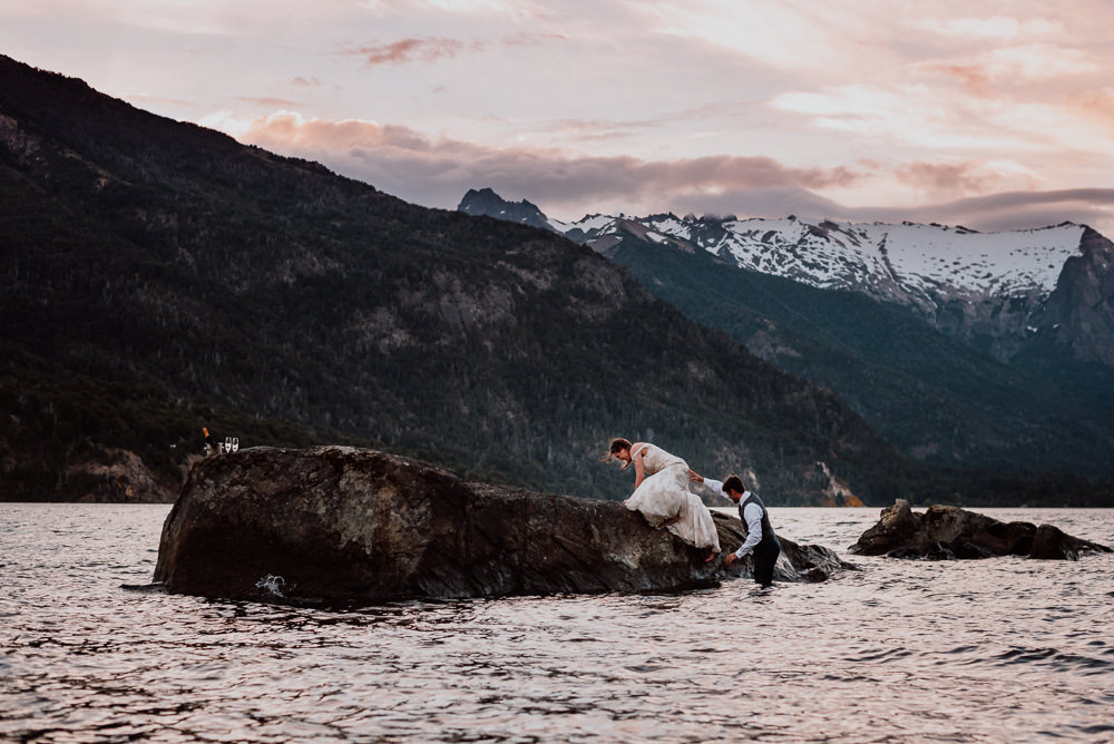 destination wedding villa la angostura patagonia argentina