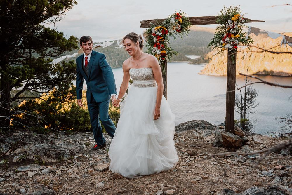 casamiento al aire libre bariloche