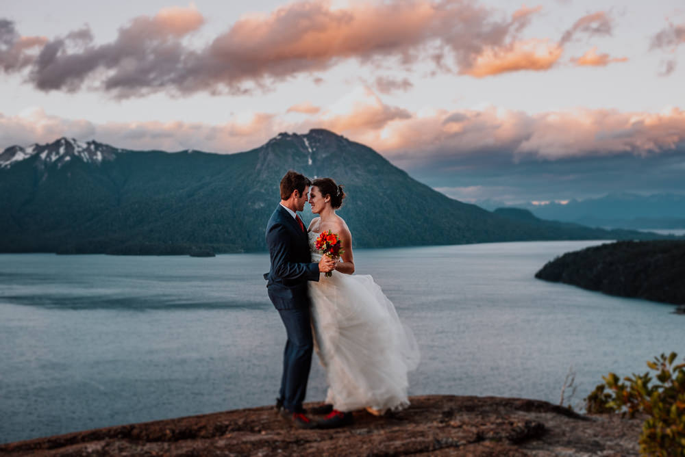 Destination Adventure mountain Wedding in Bariloche Patagonia Argentina