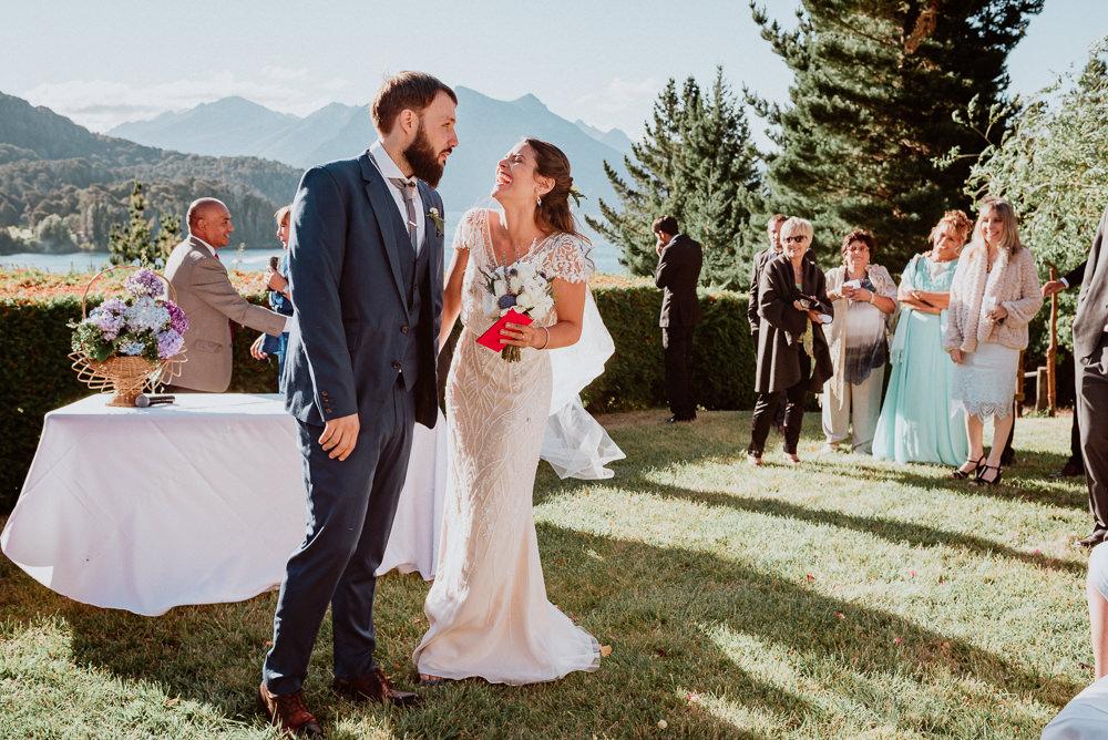 casamiento al aire libre hotel amancay bariloche