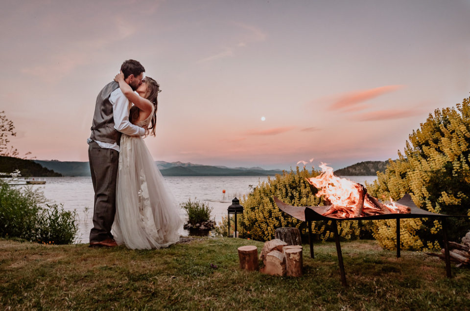 D&T | Elopement Wedding in Patagonia Lake