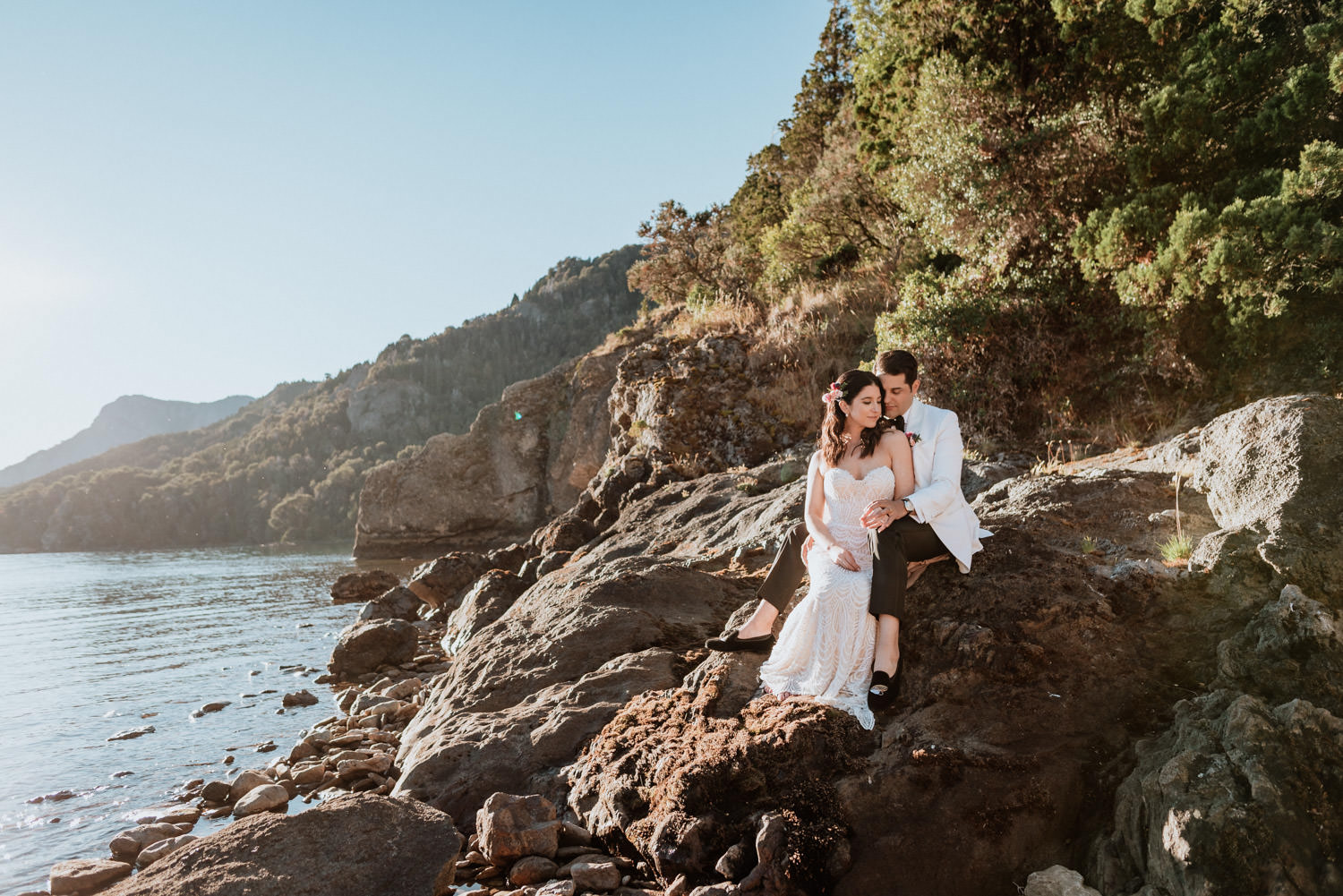 elopement wedding patagonia traful lake