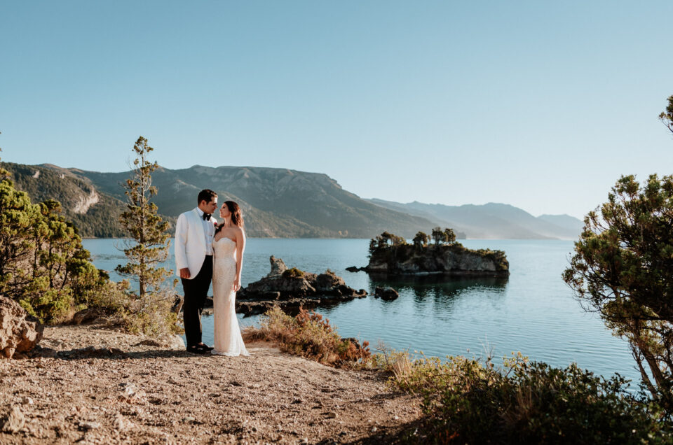 K&A | Elopement Wedding in Patagonia Fishing Lodge