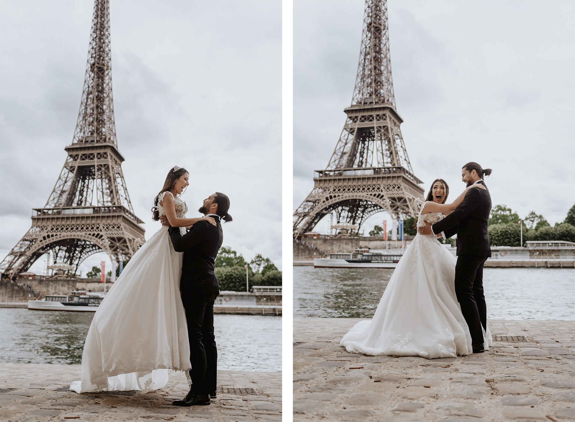 Eiffel tower photo shoot