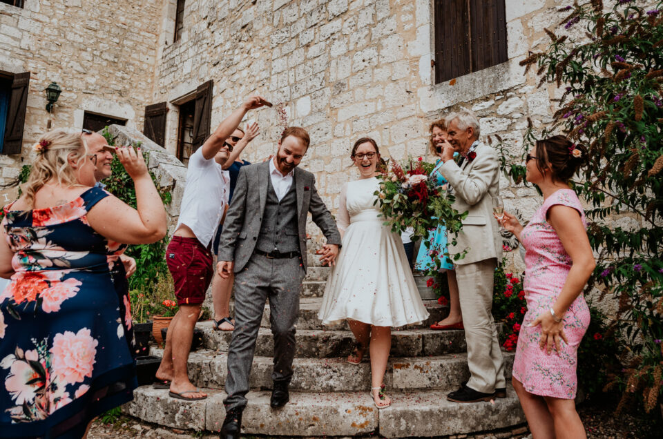 J&C | Castle Vineyard Wedding in Bergerac, France