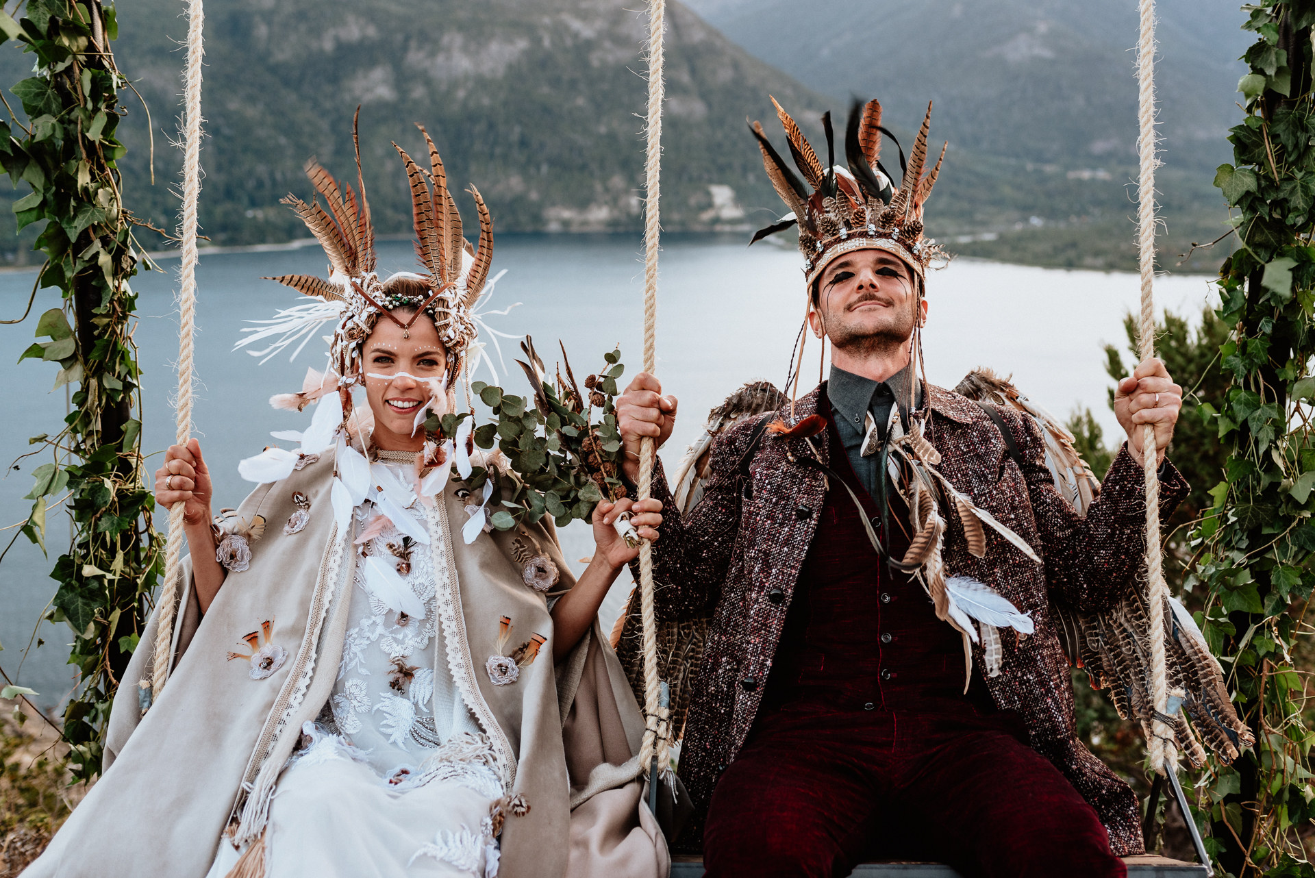 boda chamanica en patagonia