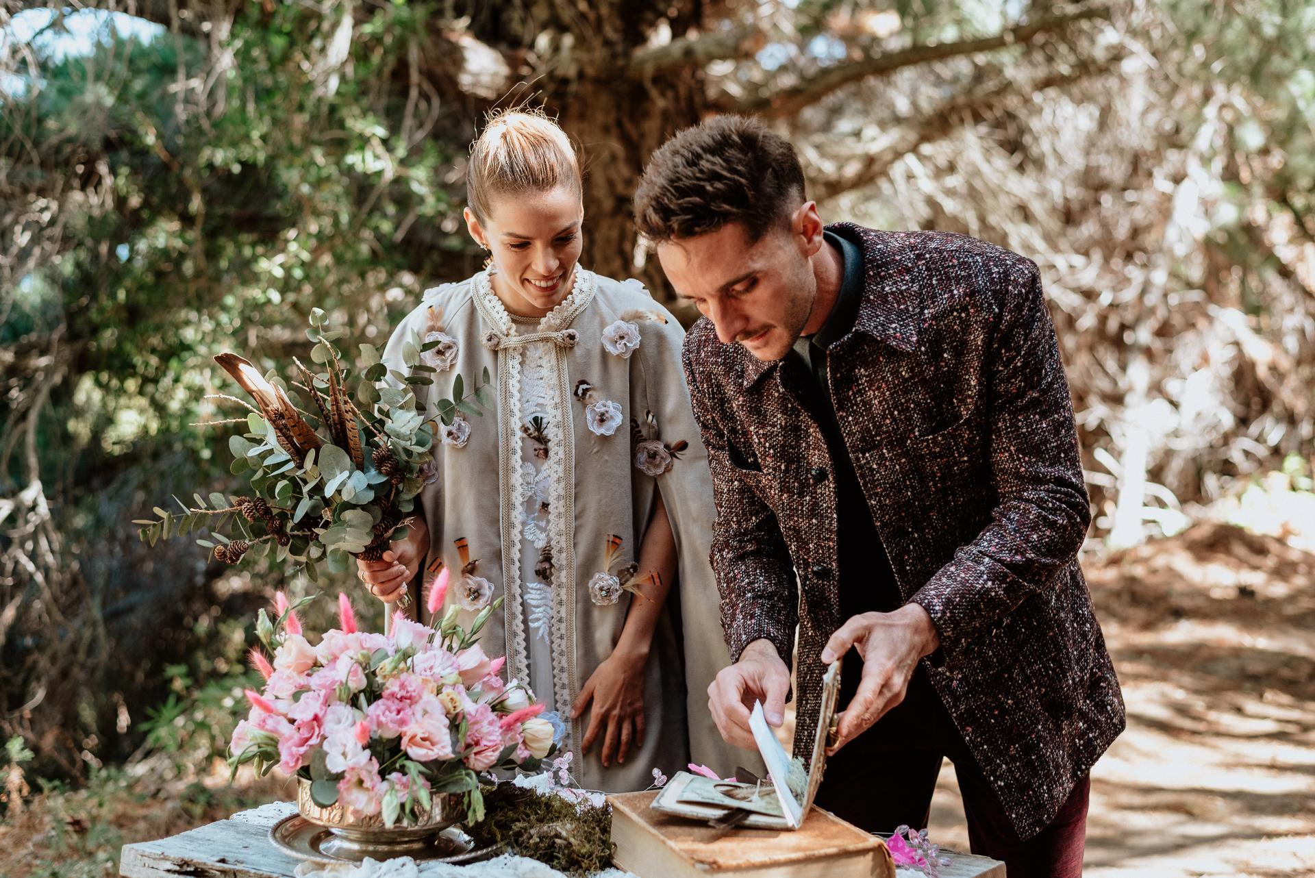 boda chamánica bosque bariloche